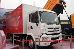 大运 N6重卡 220马力 4X2 厢式载货车(N6-1140)