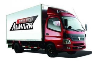 福田欧马可1系 117马力 4.165米单排厢式轻卡