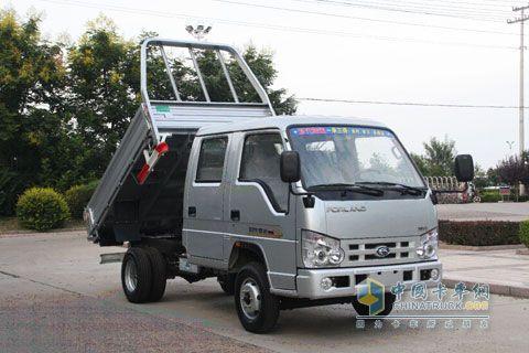 福田汽车工程车事业部 时代骁运2.0A 40马力 4 2 自卸车 F1600时代金高清图片