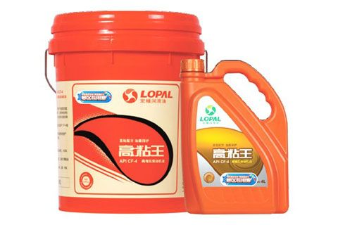 龙蟠润滑油 高粘王 API CF-4