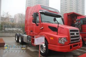 中国重汽 威泺长头车牵引车 轻量化版 375马力