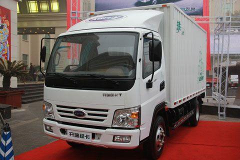 开瑞绿卡T 2T厢式货车 YZ4DA2-30