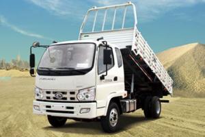 福田骁运 80马力 4×2 自卸车