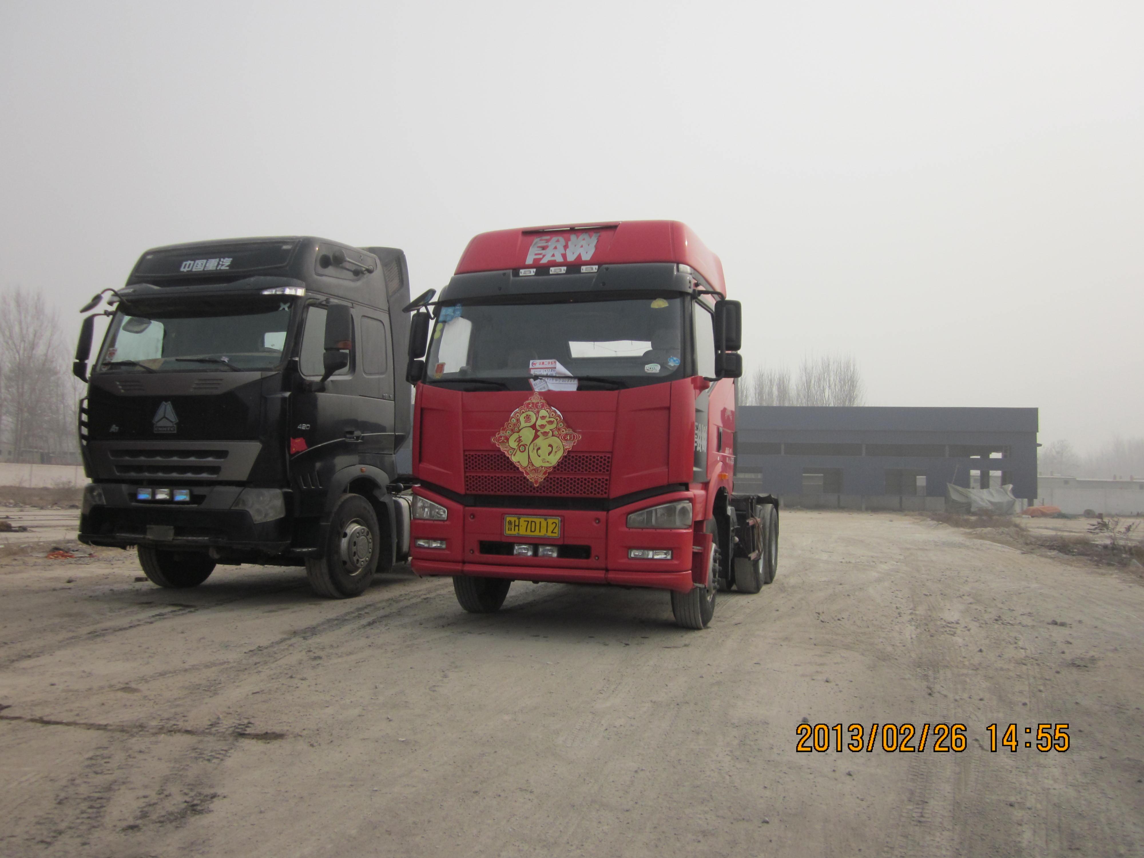 重庆二手车解放j6双驱牵引车-二手卡车-中国卡车网[