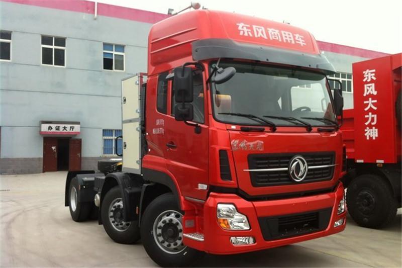 东风商用车 天龙重卡 375马力 6X2 国五天然气牵引车(DFH4240A1)