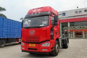一汽解放 J6M准重卡 320马力 4X2 国四牵引车(CA4180P63K1A1E5)