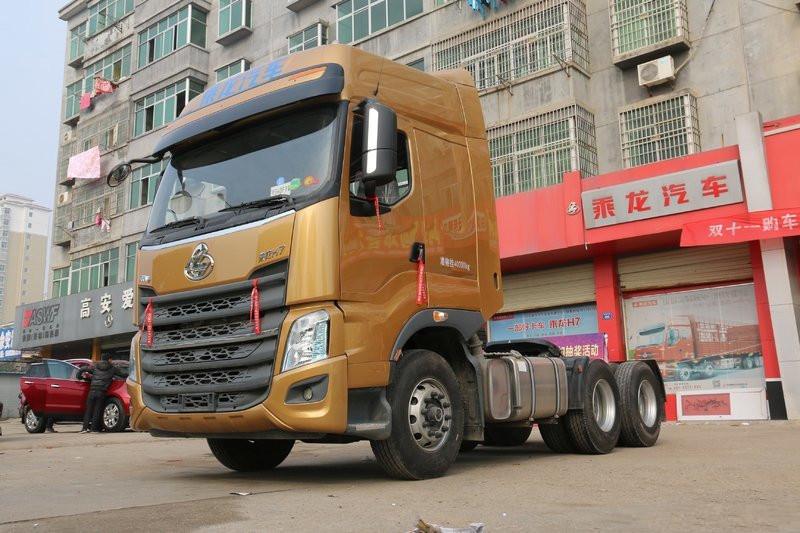 東風柳汽 乘龍H7重卡 500馬力 6X4 國五牽引車(LZ4253H7DB)