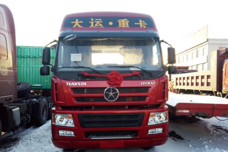 大运 N8E重卡 430马力 6X4 国五牵引车(CGC4250D5ECCE)