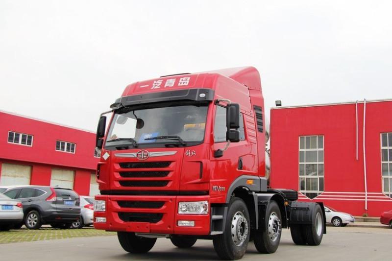 一汽解放青汽 悍V重卡 350马力 6X2 国五牵引车(CA4252P1K2T3E5A80)