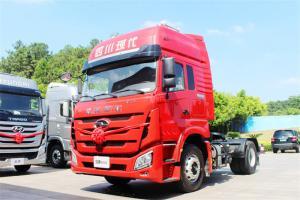 四川现代 致道800W重卡 310马力 4X2 国五牵引车(CNJ4180KPG36V)