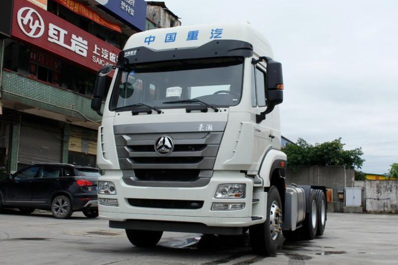 中国重汽 豪瀚J7G重卡 360马力 6X4 国五牵引车(ZZ4255N3246E1)