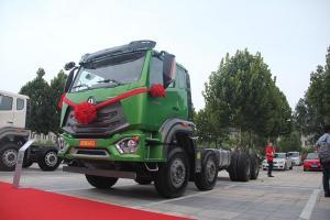 中国重汽 豪瀚N6G重卡 380马力 8X4自卸车底盘