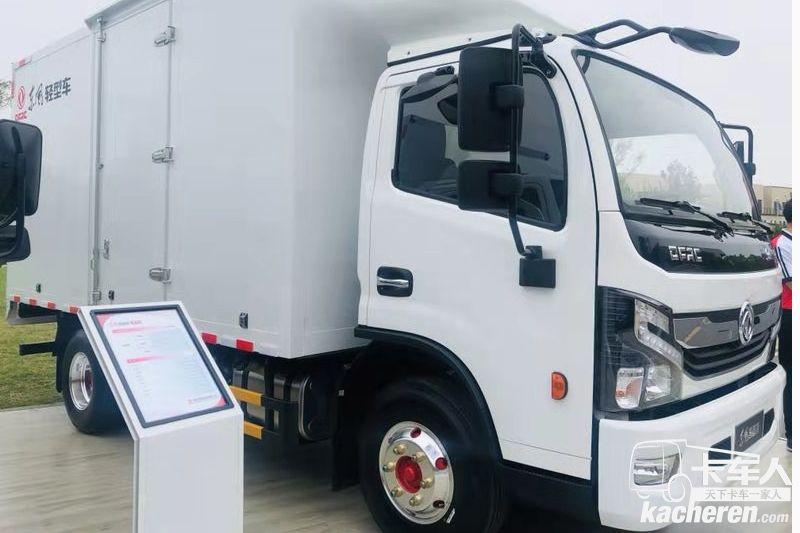 东风凯普特 K6 2.3米货箱轻卡载货车