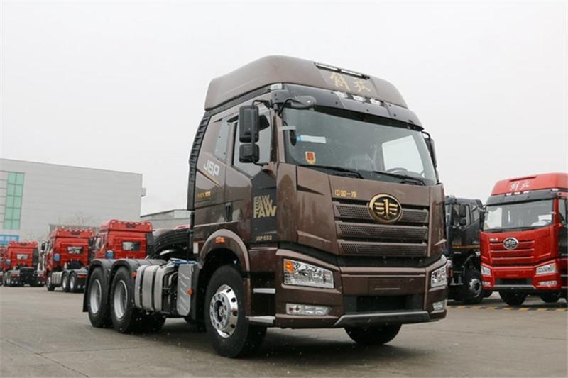 一汽解放 新J6P重卡 领航版四季款 550马力 6X4 国五牵引车(CA4250P66K25T1A2E5)