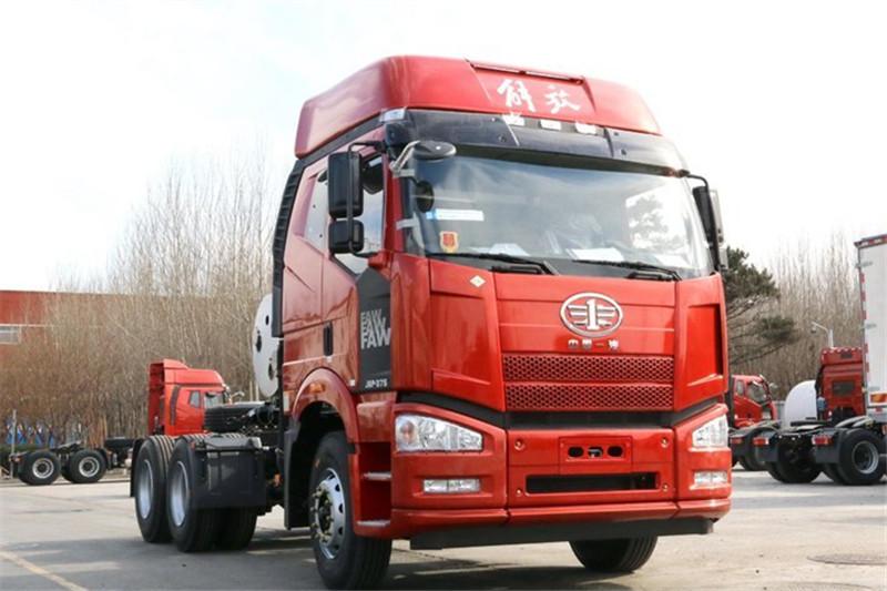 一汽解放 新J6P重卡 375ag环亚|首页 6X4 国五LNG牵引车(CA4250P66T1A1E24M5)