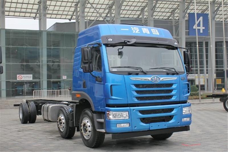 青岛解放 悍V重卡 260马力 6X2 国五9.5米仓栅式载货车(8挡)(CA5250CCYP1K2L7T3E5A80-1)