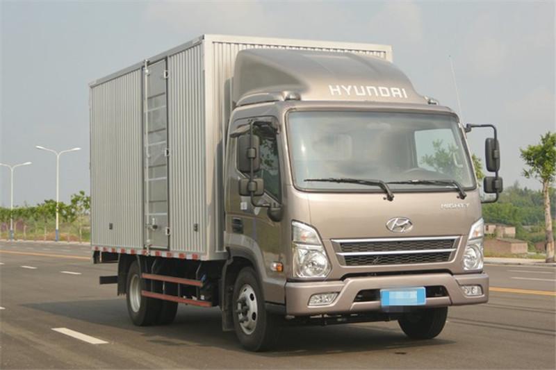 四川现代 盛图H1 129马力 国五4.12米单排厢式轻卡(CHM5041XXYGDC33V)