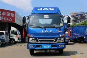 江淮 骏铃V3 快递版 109马力 国五3.82米排半厢式轻卡(HFC5041XXYP93K4C2V)
