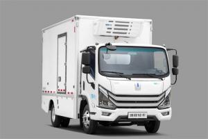 吉利远程 Re500 4.5T 3.9米单排增程式电动冷藏车(DNC5047XLCSHEVG13)