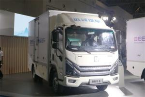 吉利远程 Re500 4.5T 4.14米单排增程式电动厢式轻卡(DNC5047XXYSHEVG12)25.9kWh