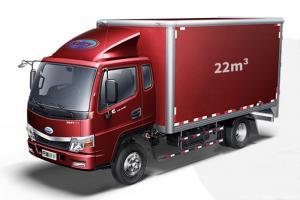开瑞 绿卡 重载版基本型 141马力 国五3.85米排半厢式轻卡(宽体)(SQR5040XXYH03D)