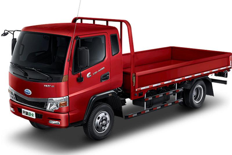 开瑞 绿卡 城配重载版豪华型 116马力 国五3.9米排半栏板轻卡(中体)(SQR1044H16D)