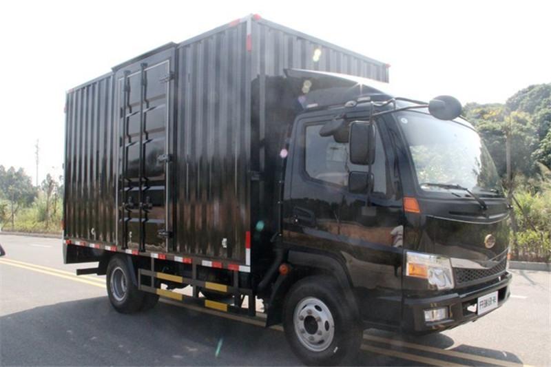 开瑞 绿卡 城配重载版豪华型 116马力 国五4.15米单排厢式轻卡(中体)(SQR5048XXYH16D)