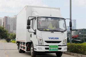跃进 超越EC100 4.5T 4.17米单排厢式纯电动轻卡(SH5047XXYZFEVNZ)78.8kWh