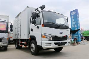 开瑞 绿卡 城配重载版基本型 129马力 国五4.15米单排厢式轻卡(中体)(SQR5047XXYH02D)
