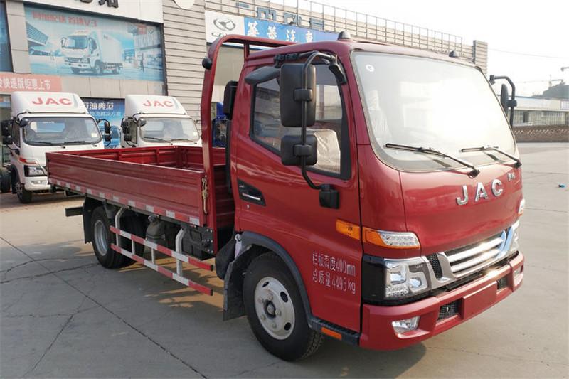 江淮 骏铃V5 120ag环亚 首页 国五4.18米单排栏板载货车(HFC1045P92K1C2V)