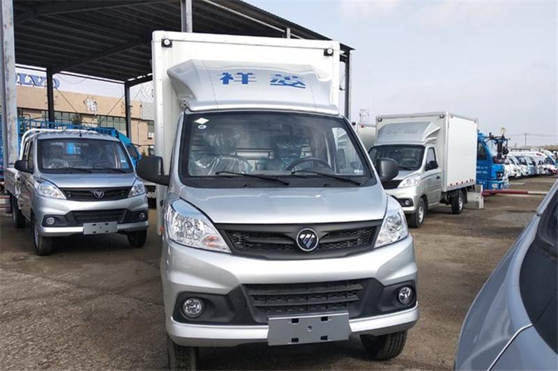 福田 祥菱V1 1.2L 86马力 汽油 国五2.8米单排厢式微卡(BJ5036XXY-D3)