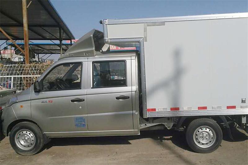 福田 祥菱V1 1.5L 112马力 汽油 国五2.3米双排厢式微卡(BJ5036XXY-D4)