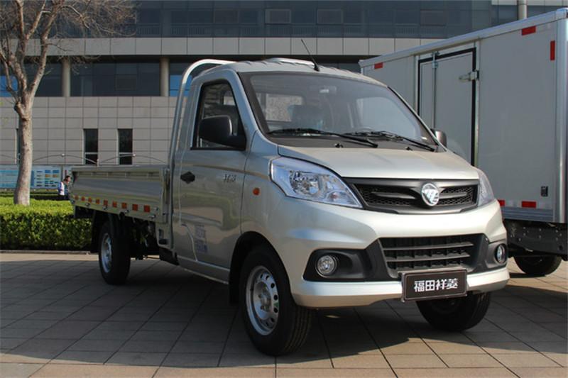 福田 祥菱V1 1.5L 112马力 汽油/CNG 国五3.05米单排栏板微卡(BJ1036V4JL6-T5)