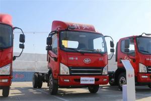 解放 虎VN 120马力 国五4.16米单排厢式轻卡底盘(CA5040XXYP40K61L2E5A84)