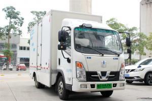 吉利远程 E200 4.5T 4.14米单排厢式纯电动轻卡(DNC5049XXYBEV05)86kWh