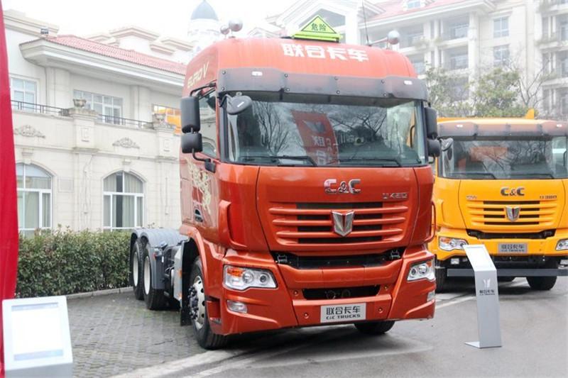 联合卡车 U440重卡 440马力 6X4 国五牵引车(汉德后桥)(QCC4252D654-1)