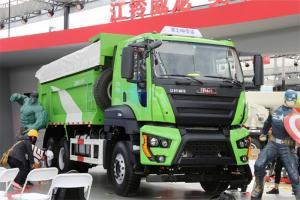 江铃重汽 威龙重卡 390马力 6X4 国五5.6米自卸车(SXQ3250J4A3D5A)