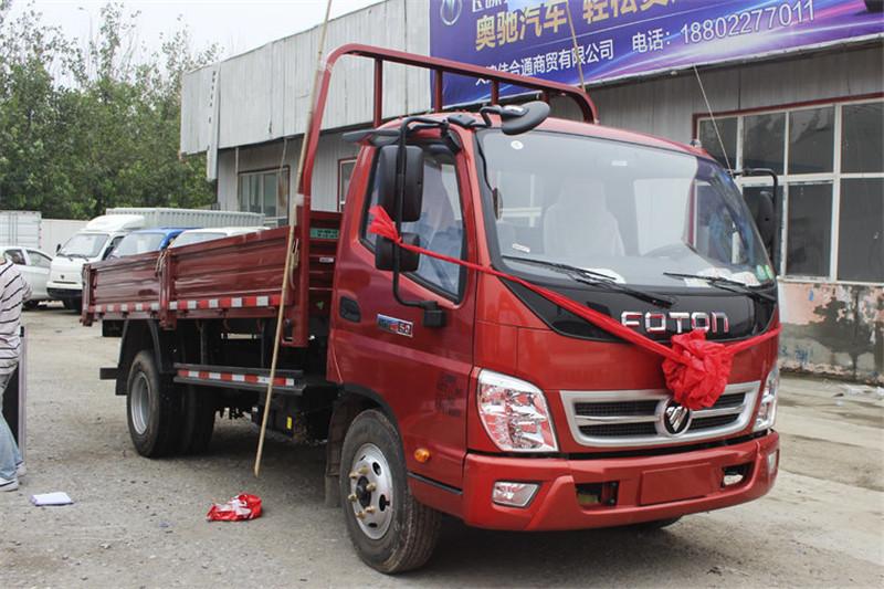 福田时代 M3 110马力 4X2 国五4.2米平板自卸车(BJ3043D9JBA-FA)