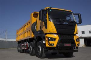 江铃重汽 威龙重卡 320马力 8X4 国五6.8米自卸车底盘(SXQ3310J5A2D5)