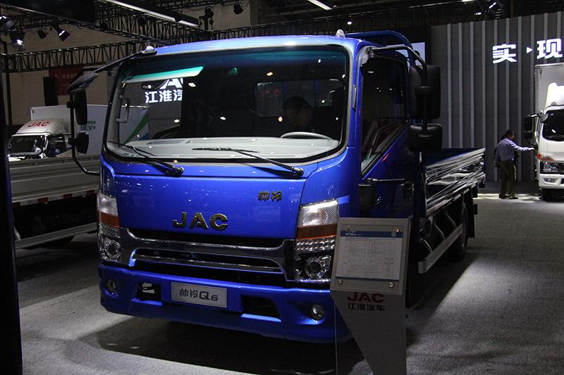 江淮 帅铃Q6 160马力 4×2 国六 平板载货车