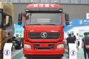 陕汽重卡 新德龙M3000 轻量化版 400马力 6X4 国五CNG牵引车(SX4258GU384T)