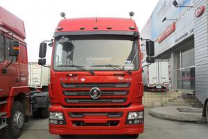 陕汽重卡 德龙X3000 430马力 6X4 LNG牵引车(国六))(SX4259XD4TLQ1)
