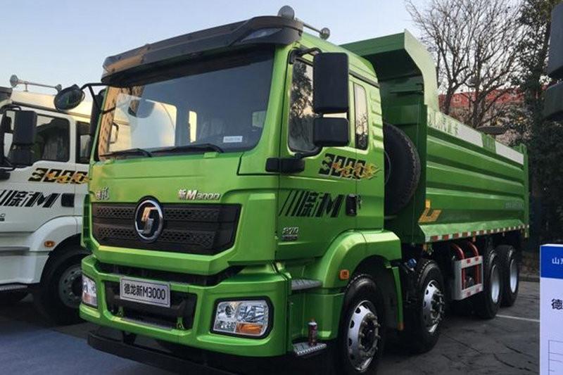 陕汽重卡 德龙新M3000 城建标载版 350马力 6X4 5.4米 国五自卸车(SX5250ZLJMB384)