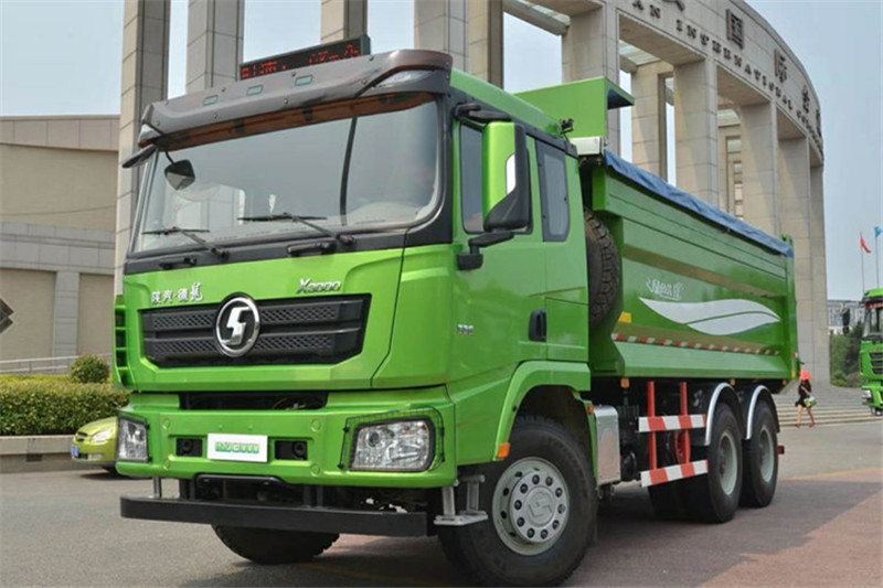 陕汽康明斯 德龙X3000 城建加强版 345马力 6X4 5.8米 国五自卸车(SX5250ZLJ5B4042B)