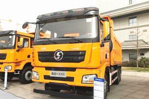 陕汽重卡 德龙X3000 矿用加强版 430马力 6X4 6.2米 国五LNG自卸车(SX32585V434TL)