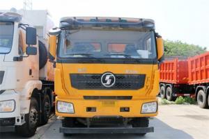 陕汽重卡 德龙F3000 加强版 350马力 6X4 5.8米 国五LNG自卸车(SX3258DR384TL)