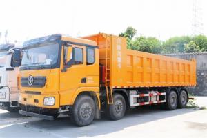 陕汽康明斯 德龙X3000 矿用加强版 385马力 6X4 6.8米 国五自卸车(SX32505B484)