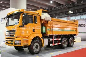 陕汽康明斯 德龙M3000 矿用加强版 385马力 6X4 6米 国五自卸车(SX3250MB4042)