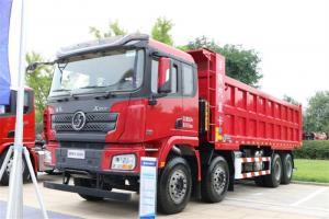 陕汽康明斯 德龙X3000 超强版 385马力 8X4 7.6米 国五自卸车(SX5310ZLJ5C406)