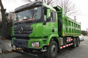 陕汽康明斯 德龙X3000 加强版 385马力 8X4 7.6米 国五自卸车(SX5310ZLJ5C406)